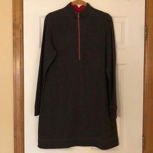 Tommy Bahama reversible long-sleeved dress